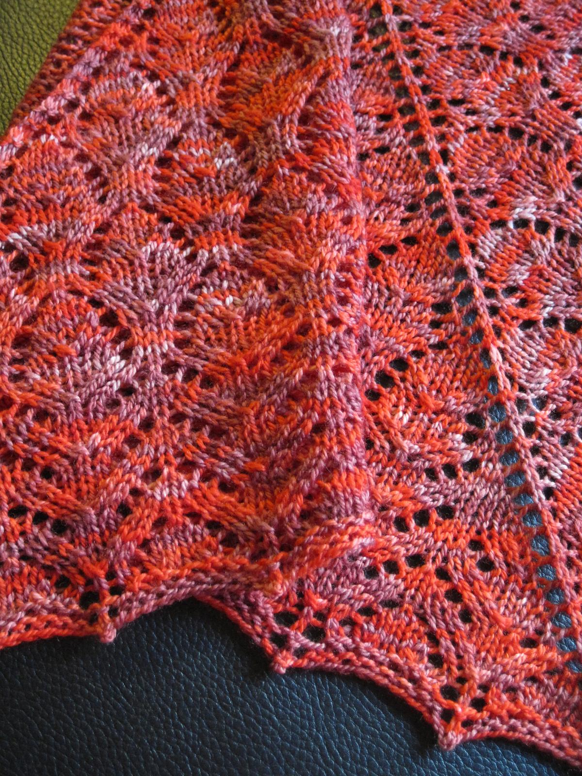 Wilhelmina shawl