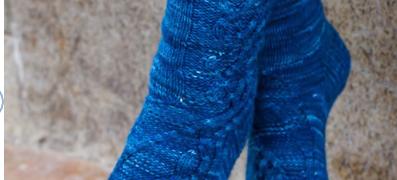 Midsummer's Nights Dream - Lover's Tangle Socks