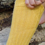 Twelfth Night Yellow Socks